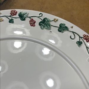 Cake plate with matching dome/lid